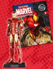 Classic Marvel Figurine Collection #012 Iron Man Eaglemoss Publications